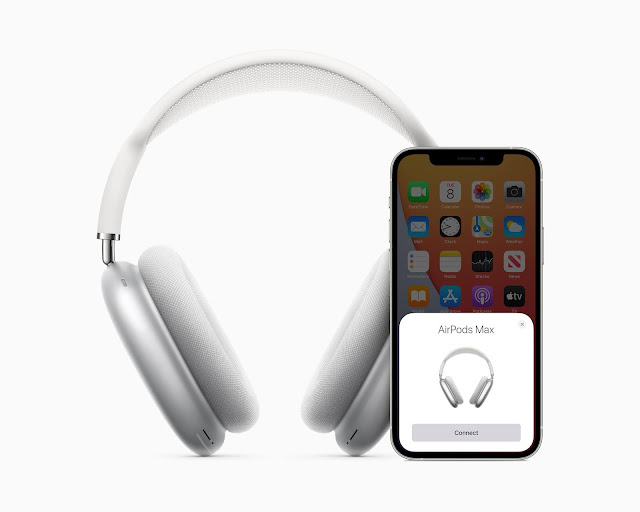 Meet the new AirPods Max: Apple's first over the ear headphones!