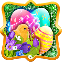 Happy Easter Holiday Greetings icon