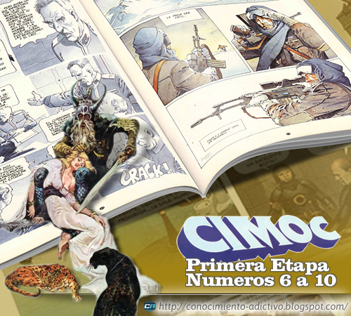 CIMOC · Primera Época - Números 6 al 10