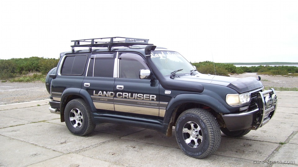 1997 Toyota Land Cruiser Base 4dr SUV 4.5L 6 Cyl. 4×4 4 Speed Automatic