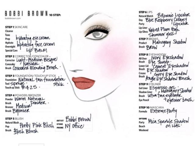 Bobbi Brown Cosmetics Werbekampagne mit Katie Holmes