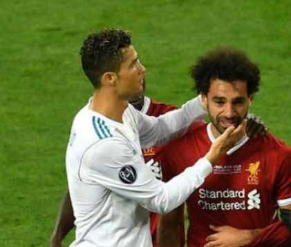Ronaldo surprises, says Salah can win the Ballon d'Or this year