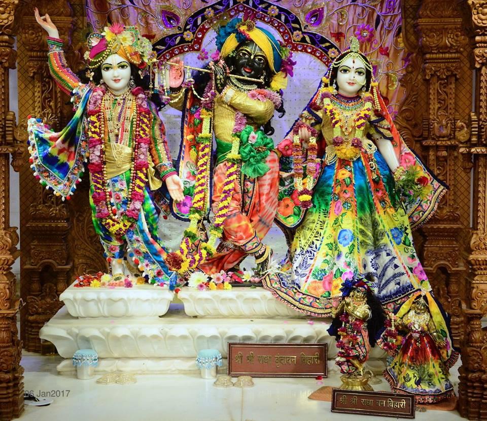 ISKCON GEV Deity Darshan 06 Jan 2017 (11)