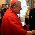 His Eminence Cardinal Burke at the Dome of Home, 8th March 2015