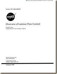 Laminar Flow Control Reports 1_01