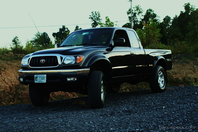 2004 Toyota Tacoma Base Extended Cab Pickup 2.4L 4 Cyl. 5 Speed Manual 6.2  Ft. Bed