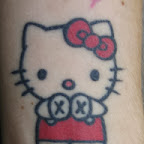 pulse - Hello Kitty Tattoos Pictures