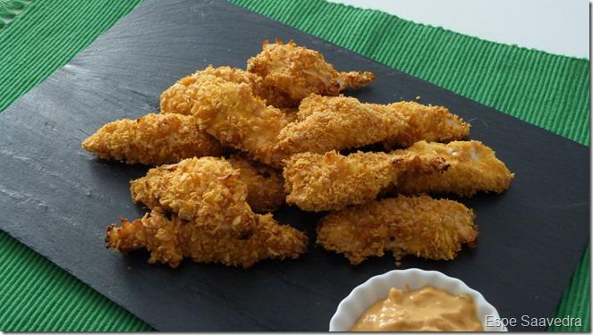 pollo rebozado cereales espe saavedra