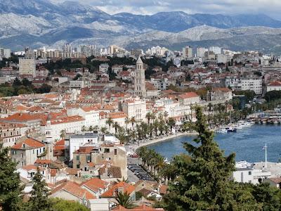 die Altstadt von Split