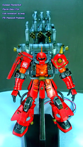 MS-06R Psycho zaku สีกระป๋อง ครับ โดย nuttybigbrain