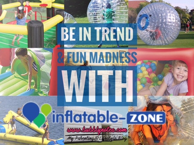 BE IN TREND & FUN MADNESS WITH INFLATABLE-ZONE
