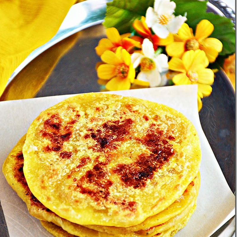 Thengai poli / Coconut puran poli / Sweet poli with coconut filling / Thengai poorna poli - Pongal recipes