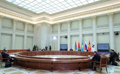 Meeting of the Supreme Eurasian Economic Council in St. Petersburg