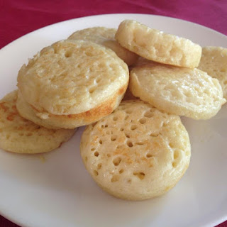 Thermomix Crumpets.