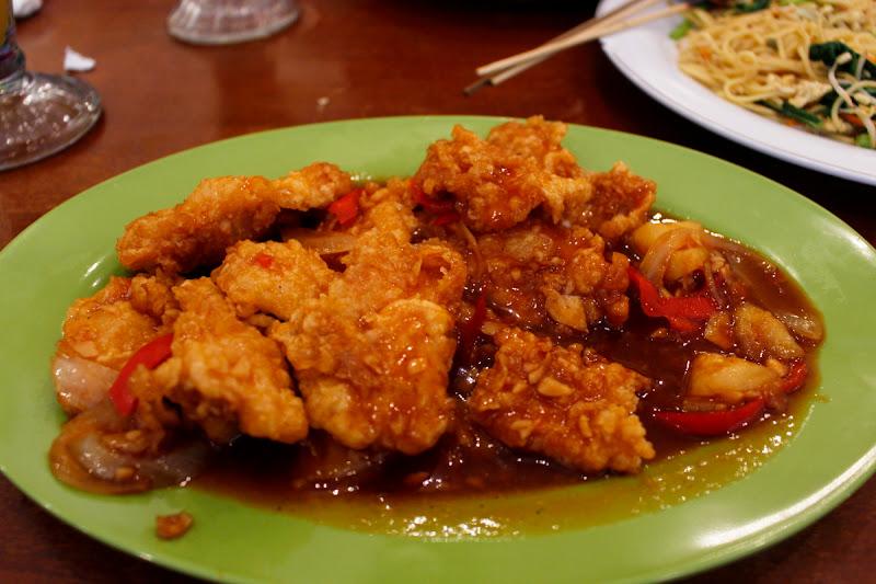 Koloke (pollo agridulce)