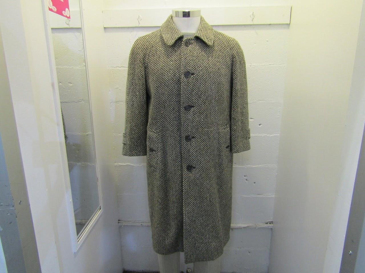Burberrys' Irish Tweed Coat