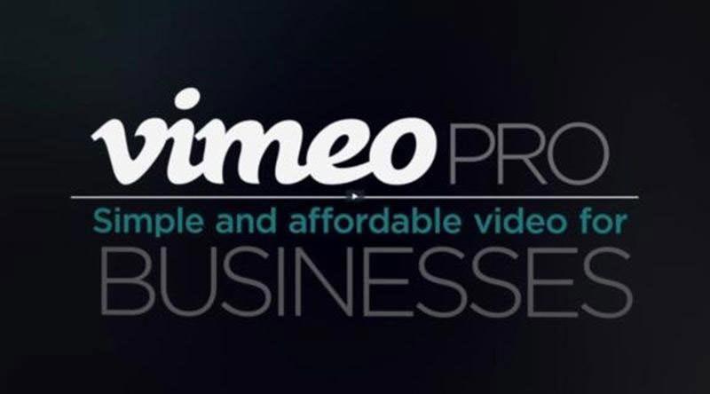 圖七 Vimeo PRO