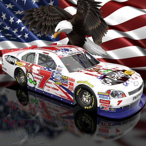 Wallpapers By Wicked Shadows: Danica Patrick NASCAR Unites