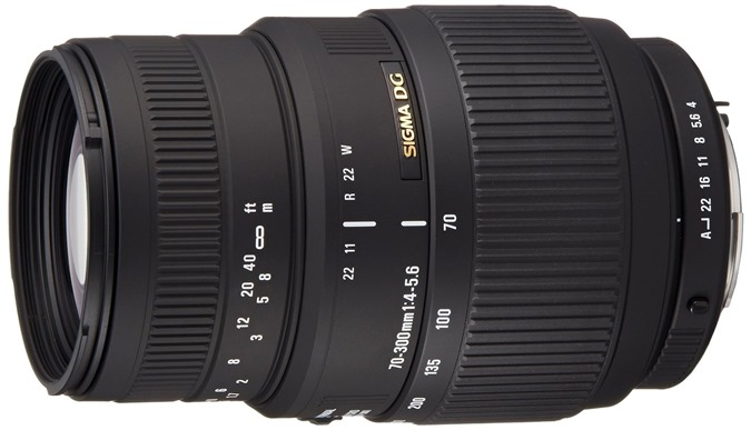 Sigma 70-300mm f/4-5.6 DG Macro Telephoto Zoom Lens for Pentax DSLRs