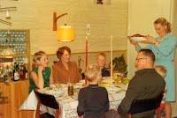 Groeneweg, Gre, Marianne, Peter en Walter,Ronald Kerstmis 1969.jpg