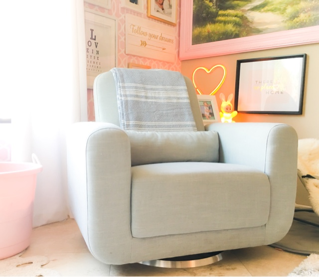 Our Babyletto Tuba Is Great! It Is Wide Enough For You And Your Child. We  Read Kingsley His School Books In This Chair And Even Have Room If Apple  Wants To ...