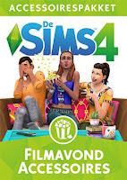 De Sims 4 Filmavond Accessoires boxart