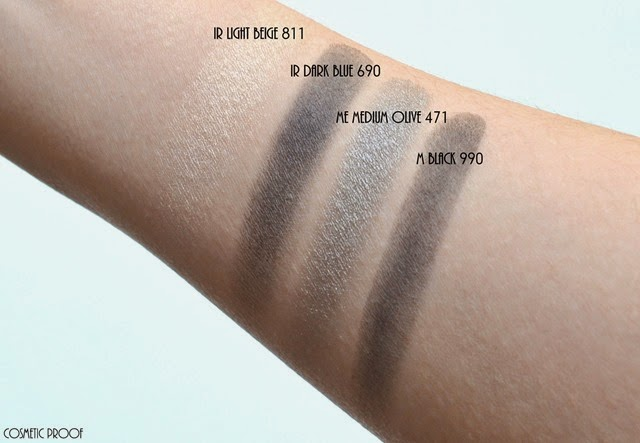 shu uemura 16 shades of nude eyeshadow palette swatches review (8)
