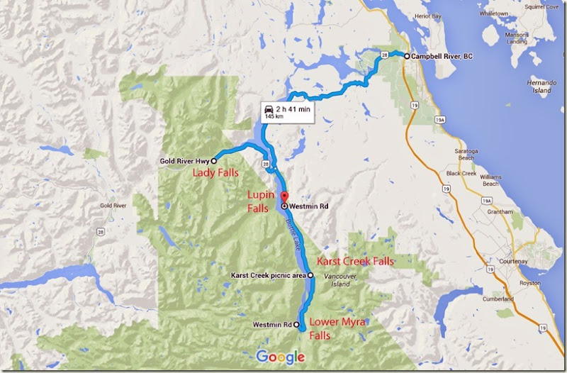 Campbell River to Westmin Rd, Comox-Strathcona D, BC V0P - Google Maps