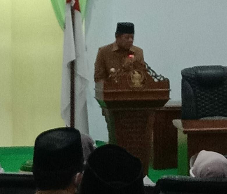 Sidang Paripurna, Perubahan APBD Kabupaten Soppeng Anggaran 2020
