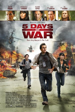 Picture Poster Wallpapers 5 Days of War (2011) Full Movies