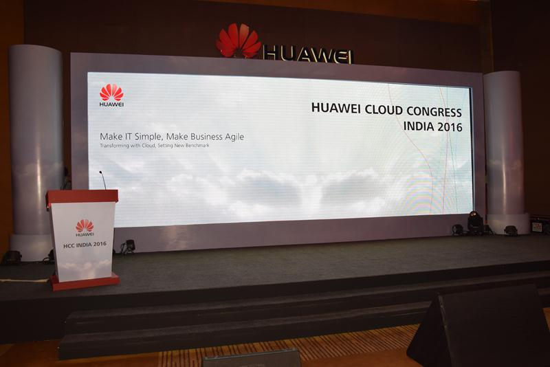 Huawei Cloud Congress India 2016 - 2