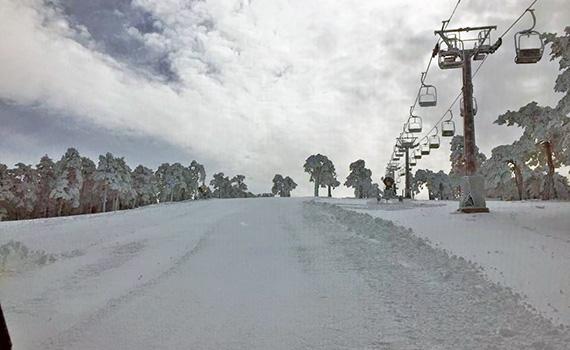 La Estación de Esquí de Navacerrada abre sus pistas mañana viernes 19 de febrero de 2016