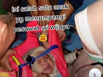 Viral Foto Bayi Selamat Diduga dari Insiden Pesawat Sriwijaya Air SJ 182 , Ini Faktanya
