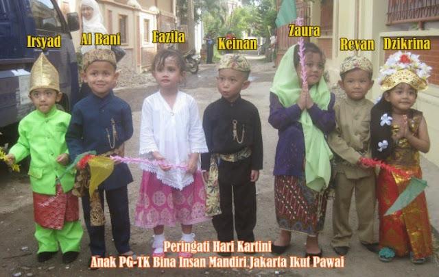 Peringati Hari Kartini, Anak-Anak TK Ikuti Pawai