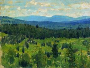 Уральский пейзаж, 1890-1891