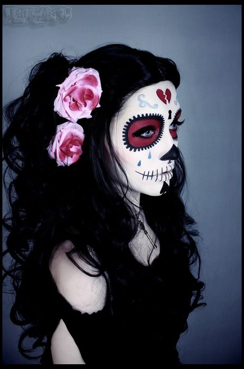 +22 Cool Hairstyles Ideas from Mexican Catrinas 2018 6