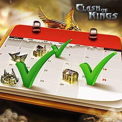 Clash of Kings Günlük Hedef Sistemi Değişikliği