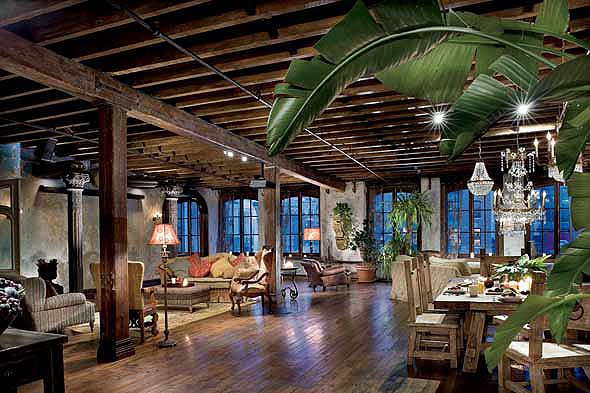Unexpected Interiors: Gerard Butler's Old-World Style Manhattan Loft