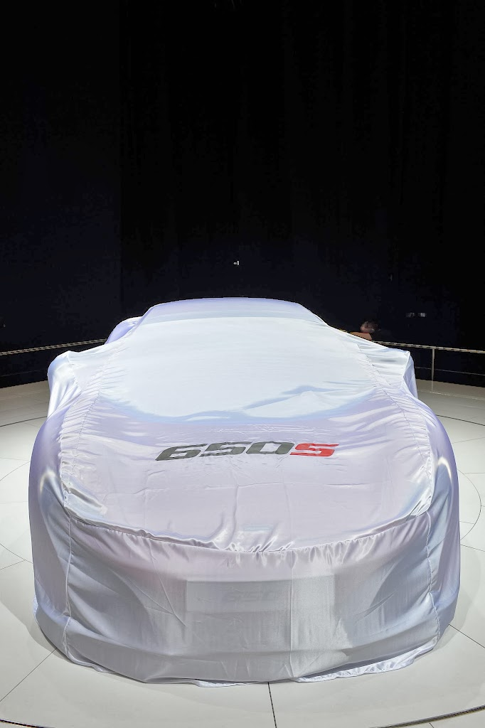 McLaren 650S Spider Geneva Motor Show 5
