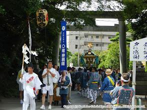 Photo: 【平成23年(2011) 本宮】  亀ヶ池八幡宮に到着。