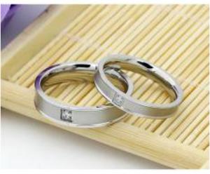 Cincin Couple / Tunangan / Nikah / Pasangan /perak /palladium p29