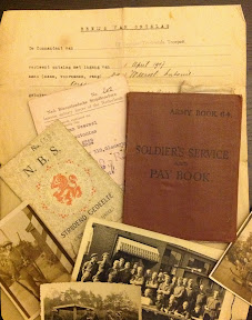 Papieren van een lid van de NBS in Enschede