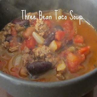 Three Bean Taco Soup