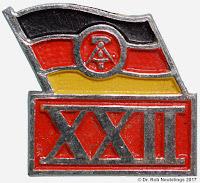1941 22. Jahrestag der DDR