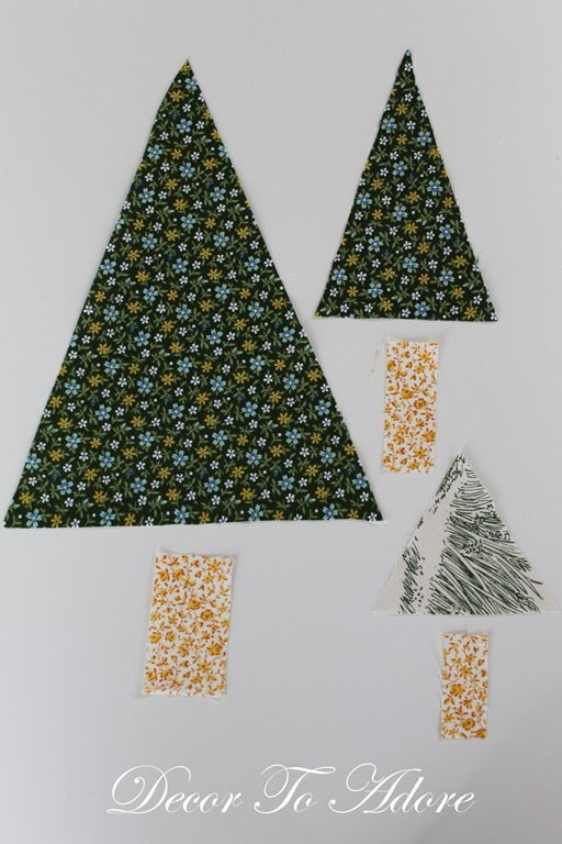 Little House Christmas Andover Fabric 004