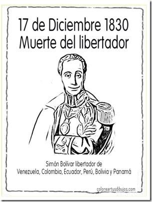 muerte bolivar