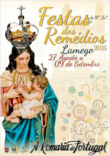 Programa das Festas de Nossa Senhora dos Remédios - 2015 - Lamego