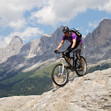 Mountainbike: Making of Videodreh Dolomiten mit Colin Stewart 16.06.12
