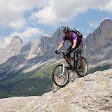 Mountainbike: Making of Videodreh Dolomiten mit Colin Stewart 16.06.12