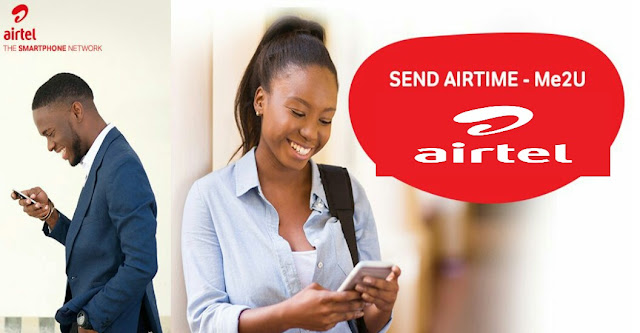 Airtime transfer on Airtel, how to transfer Airtimefrom Airtel to Airtel